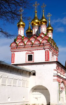 Free Joseph-Volokolamsk Monastery Royalty Free Stock Photo - 9065005