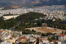 Free Temple Of Olympian Zeus, Athens, Greece Royalty Free Stock Image - 9065816