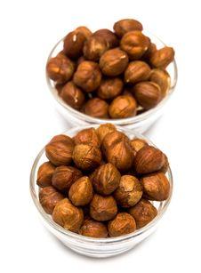 Free Many Hazelnuts In Glass Royalty Free Stock Photography - 9066707