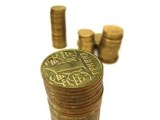Free The Coins Royalty Free Stock Images - 9067179