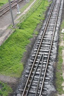 Free Long Railway Stock Photo - 9067350
