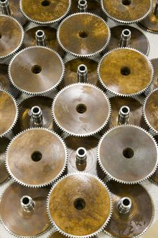 Free Industrial Gears Stock Image - 9067641