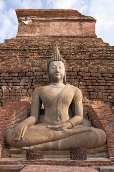 Free Buddha Image In Sukhothai Historical Park Royalty Free Stock Photo - 9068175