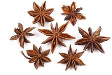 Free Star Anise On White Stock Image - 9068461
