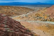 Free Desert Mountain Royalty Free Stock Photos - 9068788