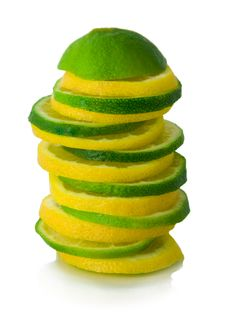Free Lime Slices Stock Photo - 9069320