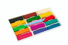 Free Color Plasticine Set. Stock Photography - 9069442