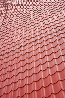 Free Texture, Roof Covered By Tiles Stock Photos - 9069823