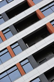 Free Windows Of The Building Stock Photos - 9069863