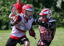 Free Lacrosse Game Stock Photography - 90613182