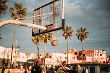 Free Basketball Players Stock Images - 90613894