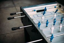 Free Foosball Table Stock Photos - 90614333