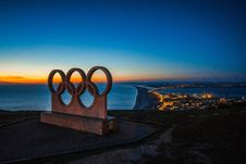 Free Olympic Rings Royalty Free Stock Images - 90660039