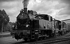 Free Train On Railroad Tracks Against Sky Royalty Free Stock Photography - 90660167