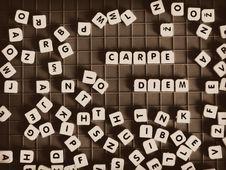 Free Carpe Diem Stock Photo - 90660250