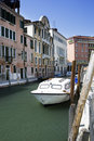 Free Venice Channel In The Summer Royalty Free Stock Photos - 9075608