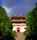 Free Chong-san Temple -clock Tower Stock Images - 9076444