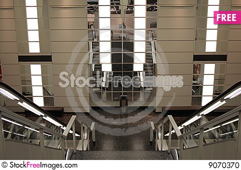 Free Escalator Stock Photo - 9070370