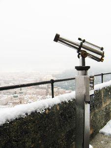 Monocular Telescope Royalty Free Stock Images