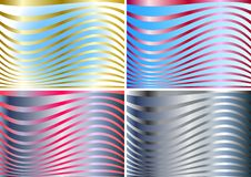 Free Four Colors Of A Silk Stock Images - 9070234