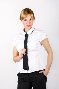Free Business Woman Stock Image - 9071751