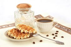 Free Still-life With Wafers Royalty Free Stock Photography - 9073087