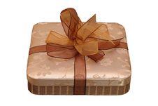 Free Nice Golden Box Stock Image - 9074091