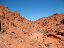 Free Valley Of Fire, Nevada Royalty Free Stock Image - 9075406