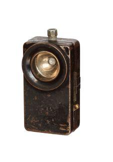 Free Old Pocket Flashlight Stock Photo - 9075510