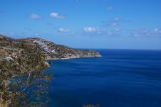 North Coast Of Crete Stock Photography