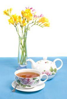 Free Morning Tea Royalty Free Stock Image - 9076066
