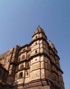 Free Palace In Orcha, Madhya Pradesh Royalty Free Stock Photography - 9076177