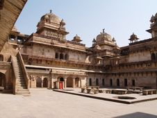 Free Palace In Orcha, Madhya Pradesh Stock Photos - 9076303