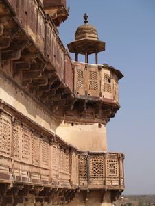 Free Palace In Orcha, Madhya Pradesh Stock Photos - 9076593