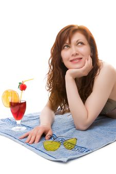 Summer Cocktail Royalty Free Stock Photography