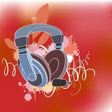 Free Headphones Stock Photography - 9078142
