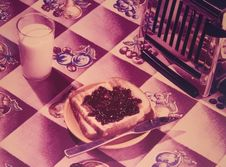 Free Old Fashioned Toast Stock Photography - 9078392