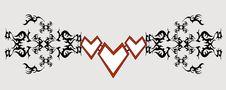 Free Bangle-tattoo Stock Image - 9078631
