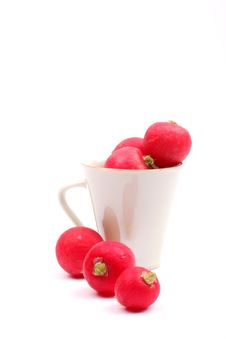 Free Radish Royalty Free Stock Photo - 9079335