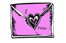 Free Love Letter Stock Photos - 9079823