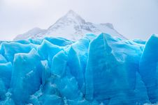 Free Blue Glacial Ice Stock Images - 90717114