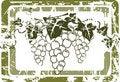 Free Grunge Grape Label Stock Images - 9083004