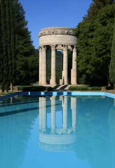 Free Pulgas Water Temple Stock Images - 9080294