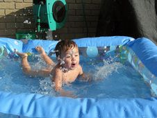Free Making A Splash Royalty Free Stock Image - 9080486