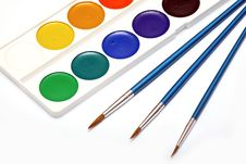 Free Brushes And Paints Royalty Free Stock Images - 9080759