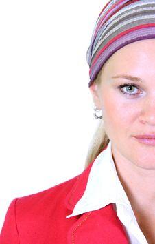 Young Swedish Woman Royalty Free Stock Photo
