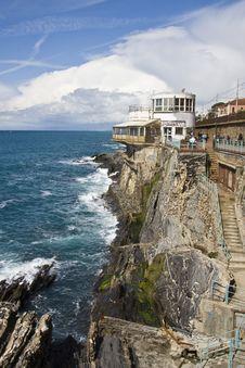 Free Italian Riviera Rocks Stock Photo - 9081810