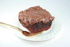 Chocolate Brownie. Stock Image