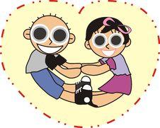 Free Happy Couple Stock Photography - 9082412