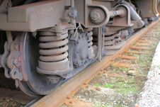 Free Old Train Mechanism Royalty Free Stock Photos - 9085018